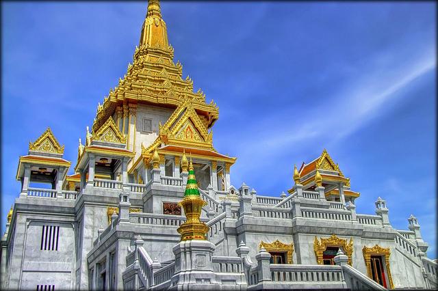 Kết quả hình ảnh cho chùa Phật vàng Wat Traimit linh thiêng
