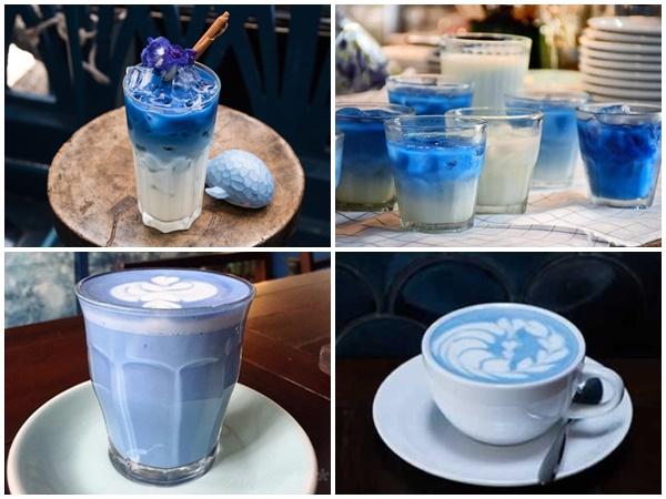 Ghé đến Quán Cafe Màu Xanh Dương Blue Whale ở Thái Lan