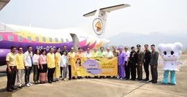 Hãng hàng không Nok Air khánh thành chuyến bay Bangkok...