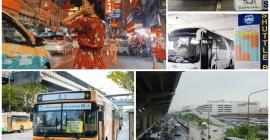 Hướng dẫn đi xe bus từ Sân bay Don Muang...