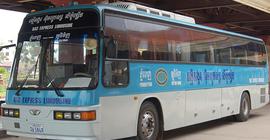 Thái Lan chuyển bến xe khách thành điểm đỗ xe...