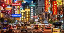 Trải nghiệm ở khu Chinatown Bangkok, Thái Lan...