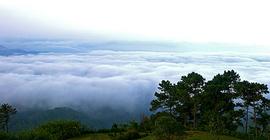 Ngắm biển trời mây bồng bềnh tại Huay Nam Dang,...