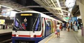 Hướng dẫn đi tàu điện ở Bangkok, Thái Lan...