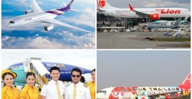 4 hãng hàng không giá rẻ của Thái Lan...