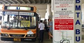 Kinh nghiệm bắt xe bus từ Sân bay Suvarnabhumi vào...