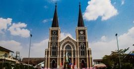 Ghé thăm Thánh đường Chanthaburi của người Việt ở Thái...