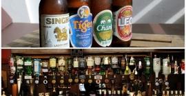 Sự phong phú của các loại bia rượu ở Thái...