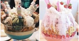 Thử thách với ly kem khổng lồ trong chuyến du...