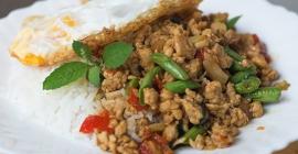 8 món cơm truyền thống của Thái Lan...