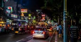 Phương tiện di chuyển tại Pattaya, Thái Lan...