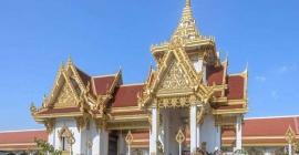 Wat Pariwat - ngôi chùa Thái tạc tượng, tôn David...