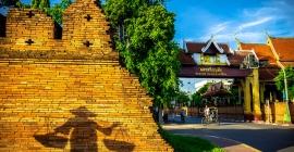 Lamphun - thủ đô của Vương quốc Hariphunchai cổ ở...