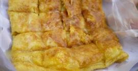 Hương vị thanh tao của bánh Roti Gluay ở Thái...